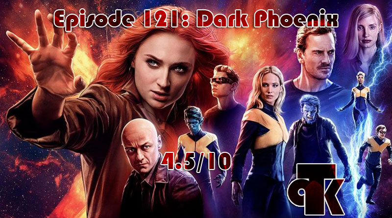 121: Dark Phoenix – Review (4.5/10)