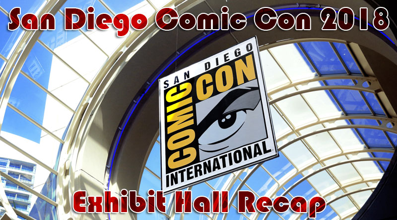 SDCC 2.4 Comic-Con 2018 Exhibit Hall