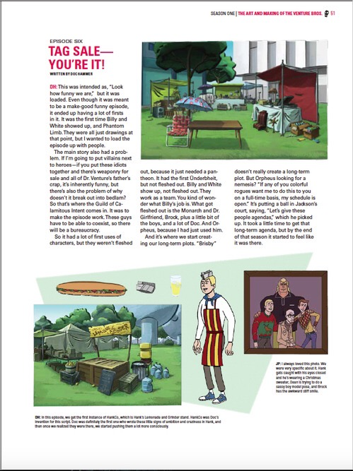 Go Team Venture! The Art and Making of the Venture Bros